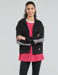 textil Mujer Sudaderas adidas Performance W Knit V Hoodie Negro