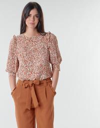 textil Mujer Tops / Blusas Betty London NIUTON Beige