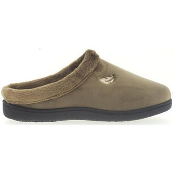 Zapatos Mujer Pantuflas Plumaflex By Roal Zapatillas de Casa Roal 12230 Beig Beige
