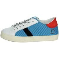 Zapatos Niños Zapatillas bajas Date J301 Blanco/Azul claro