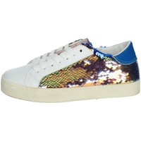 Zapatos Niña Zapatillas bajas Date J301 Blanco