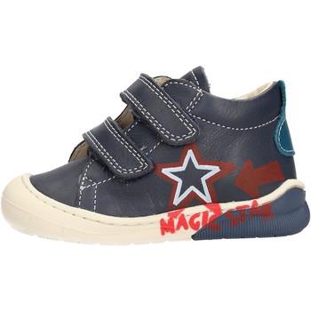 Zapatos Niño Zapatillas altas Naturino - Polacchino blu CICO VL-2C05 BLU
