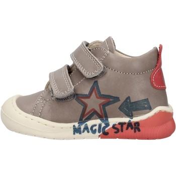 Zapatos Niño Zapatillas altas Naturino - Polacchino grigio CICO VL-1B76 GRIGIO