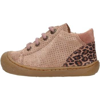 Zapatos Niño Zapatillas altas Naturino - Polacchino rosa  antico ROMY-1M60 ROSA