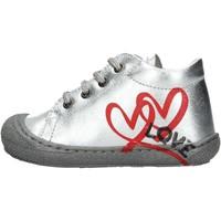 Zapatos Niño Zapatillas altas Naturino - Polacchino argento KOLBY-0Q04 ARGENTO