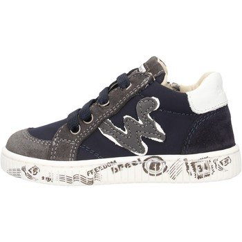 Zapatos Niño Zapatillas bajas Balducci - Polacchino blu MSPO3505 BLU