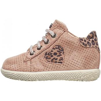 Zapatos Niña Zapatillas altas Falcotto - Polacchino rosa CARYB-1M36 ROSA