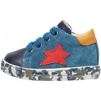 Zapatos Niño Zapatillas bajas Falcotto - Polacchino blu SASHA-2C05 BLU