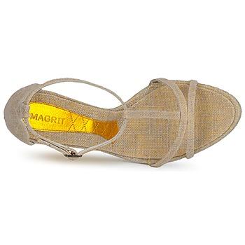 Magrit JOAQUINA Beige / Dorado