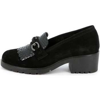 Zapatos Mujer Mocasín Grunland - Mocassino nero SC2967 NERO