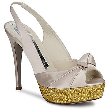Zapatos Mujer Sandalias Magrit IMPERIALI Blanco / DORADO