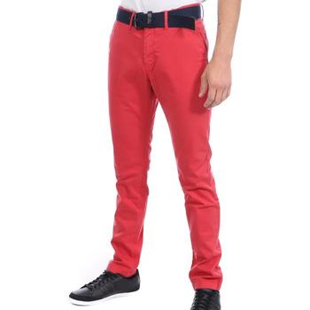 textil Hombre Pantalones chinos Kaporal  Rojo