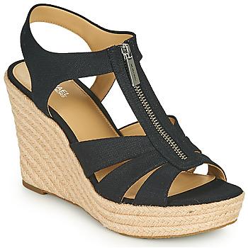Zapatos Mujer Sandalias MICHAEL Michael Kors BERKLEY WEDGE Negro