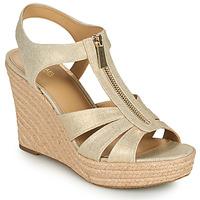Zapatos Mujer Sandalias MICHAEL Michael Kors BERKLEY WEDGE Oro