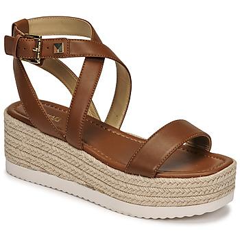 Zapatos Mujer Sandalias MICHAEL Michael Kors LOWRY WEDGE Cognac