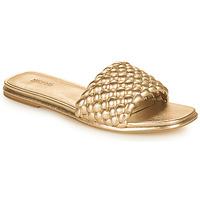Zapatos Mujer Zuecos (Mules) MICHAEL Michael Kors AMELIA FLAT SANDAL Oro