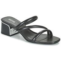 Zapatos Mujer Zuecos (Mules) MICHAEL Michael Kors LANA MULE Negro