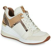 Zapatos Mujer Zapatillas bajas MICHAEL Michael Kors GEORGIE TRAINER Beige