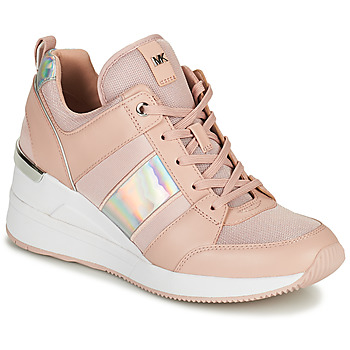 Zapatos Mujer Zapatillas bajas MICHAEL Michael Kors GEORGIE TRAINER Rosa