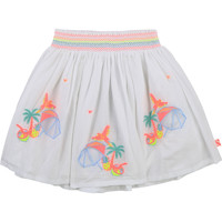 textil Niña Faldas Billieblush / Billybandit U13275-10B Blanco