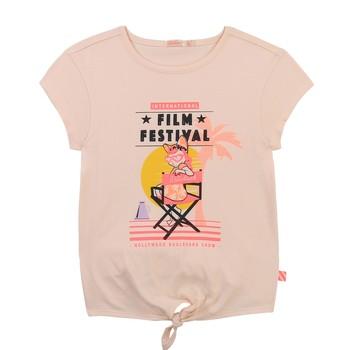 textil Niña Camisetas manga corta Billieblush / Billybandit U15852-44F Rosa