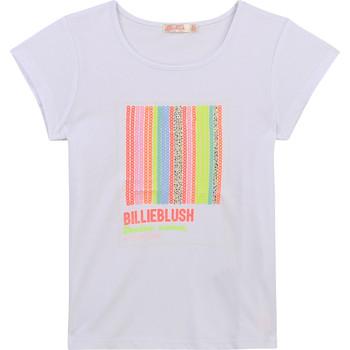 textil Niña Camisetas manga corta Billieblush / Billybandit U15857-10B Blanco
