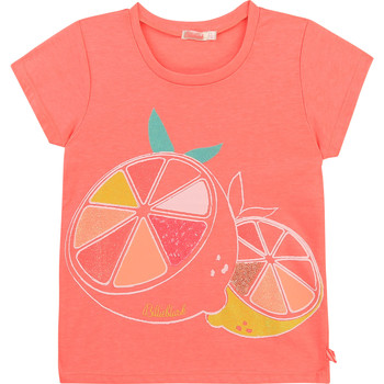 textil Niña Camisetas manga corta Billieblush / Billybandit U15864-499 Rosa