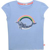 textil Niña Camisetas manga corta Billieblush / Billybandit U15875-798 Azul