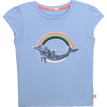 textil Niña Camisetas manga corta Billieblush U15875-798 Azul