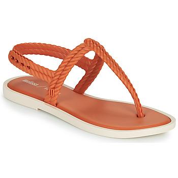 Zapatos Mujer Chanclas Melissa FLASH SANDAL & SALINAS Naranja / Beige