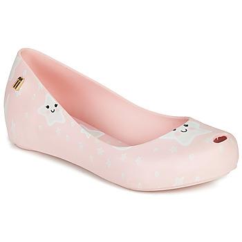 Zapatos Niña Sandalias Melissa MEL ULTRAGIRL SWEET DREAMS Rosa / Blanco