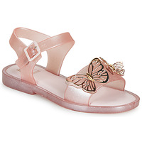 Zapatos Niña Sandalias Melissa MEL MAR SANDAL FLY Rosa / Dorado