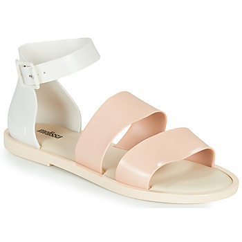 Zapatos Mujer Sandalias Melissa MELISSA MODEL SANDAL Blanco / Rosa