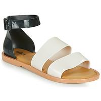 Zapatos Mujer Sandalias Melissa MELISSA MODEL SANDAL Blanco / Negro