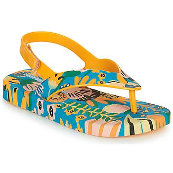 Zapatos Niños Chanclas Melissa MINI MELISSA & IPANEMA Amarillo / Azul