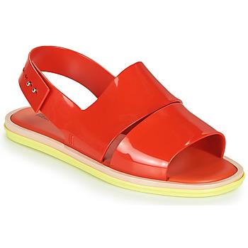 Zapatos Mujer Sandalias Melissa CARBON Rojo