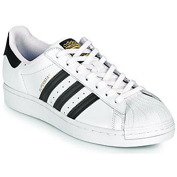 Zapatos Zapatillas bajas adidas Originals SUPERSTAR Blanco / Negro