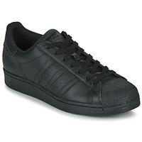 Zapatos Zapatillas bajas adidas Originals SUPERSTAR Negro