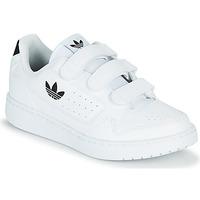 Zapatos Niños Zapatillas bajas adidas Originals NY 92  CF C Blanco / Negro