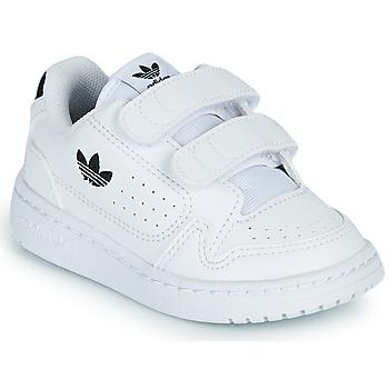 Zapatos Niños Zapatillas bajas adidas Originals NY 92 CF I Blanco / Negro