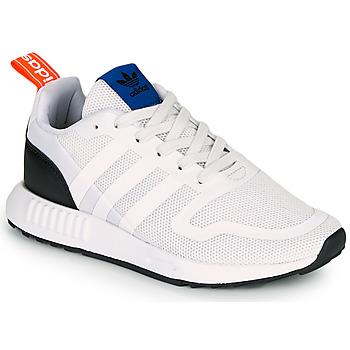 Zapatos Niños Zapatillas bajas adidas Originals SMOOTH RUNNER J Blanco / Negro