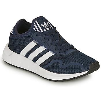 Zapatos Niños Zapatillas bajas adidas Originals SWIFT RUN X C Marino