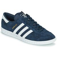 Zapatos Hombre Zapatillas bajas adidas Originals HAMBURG Marino