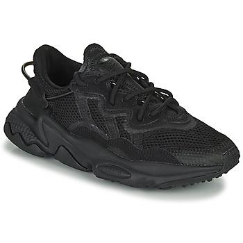 Zapatos Niños Zapatillas bajas adidas Originals OZWEEGO J Negro