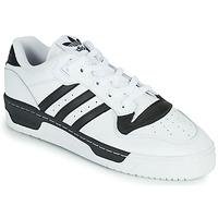 Zapatos Zapatillas bajas adidas Originals RIVALRY LOW Blanco / Negro