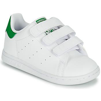 Zapatos Niños Zapatillas bajas adidas Originals STAN SMITH CF I SUSTAINABLE Blanco / Verde