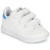 Zapatos Niña Zapatillas bajas adidas Originals STAN SMITH CF I SUSTAINABLE Blanco / Iridescent