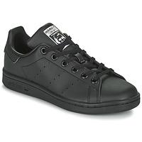 Zapatos Niños Zapatillas bajas adidas Originals STAN SMITH J SUSTAINABLE Negro
