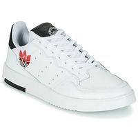 Zapatos Mujer Zapatillas bajas adidas Originals SUPERCOURT Blanco / Negro