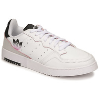 Zapatos Mujer Zapatillas bajas adidas Originals SUPERCOURT Blanco